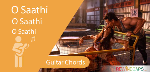 O Saathi Guitar Chords Without Capo