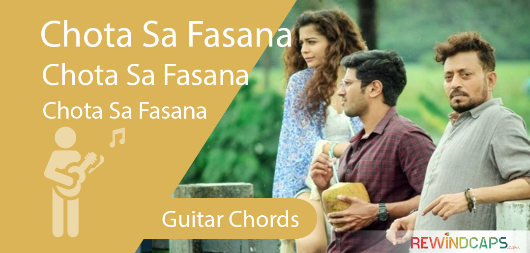 Chota Sa Fasana Chords With Strumming Pattern Guitar Arijit