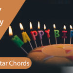 Easy Happy Birthday Chords - Guitar with Strumming Pattern