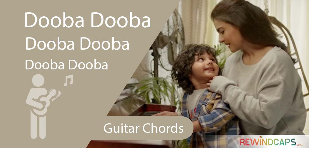 Arijit Singh Dooba Dooba Chords With Strumming Pattern Guitar