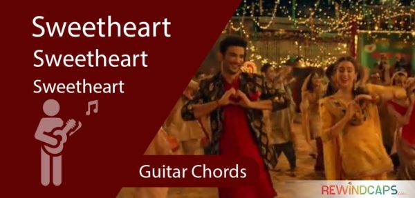 Sweetheart Guitar Chords