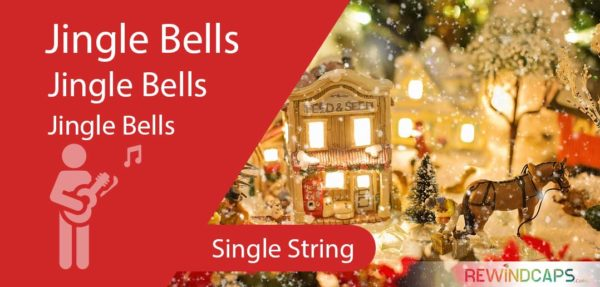 Jingle Bells Single String Guitar Tabs