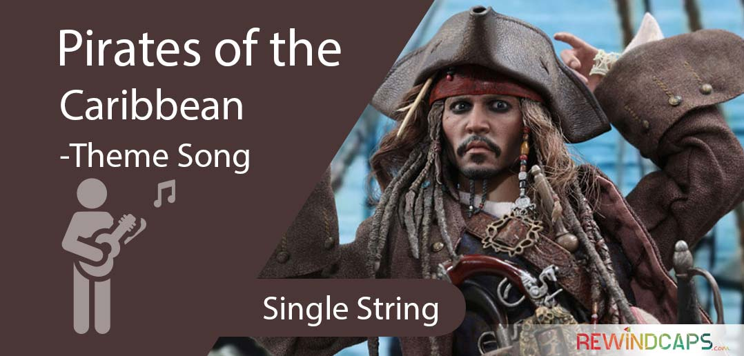 Pirates of the Caribbean Theme Song - Single String Tabs